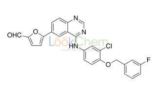 5-[4-((3-Chloro-4-((3-fluorobenzyl)oxy)phenyl)amino)quinazolin-6-yl]-2-furaldehyde CAS NO.231278-84-5