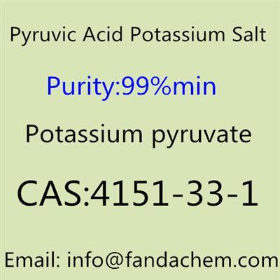 Potassium pyruvate/Pyruvic Acid Potassium Salt,CAS NO.: 4151-33-1