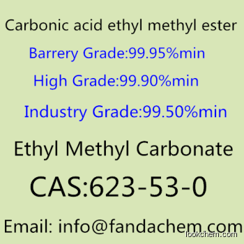 Ethyl Methyl Carbonate/Carbonic acid ethyl methyl ester,CAS NO.: 623-53-0