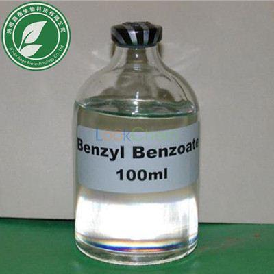 99% Purity Colourless oily Organic Solvents Benzyl Benzoate