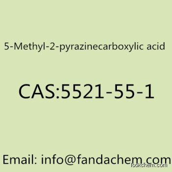 5-Methyl-2-pyrazinecarboxylic acid, CAS NO 5521-55-1