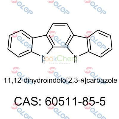SOLOP high purity, low price, in stock, free sample  11,12-dihydroindolo[2,3-a]carbazole 60511-85-5