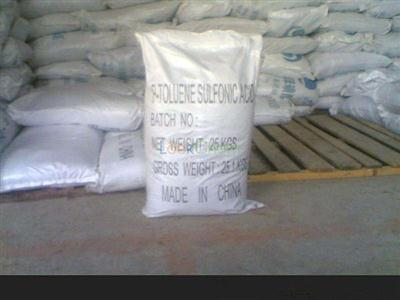 Professional supplier for P-Toluenesulfonic acid CAS 104-15-4 with competitive price !