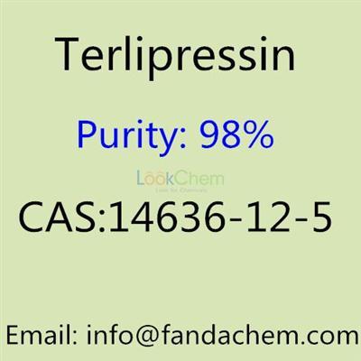 Terlipressin 98% CAS NO: 14636-12-5 from Fandachem