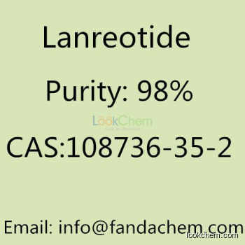 Lanreotide 98% CAS NO:108736-35-2 from Fandachem