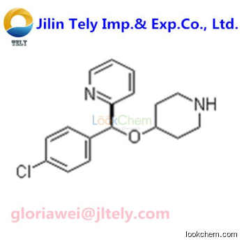 (S)-2-[(4-Chlorophenyl)(4-piperidinyloxy)methyl]pyridine High Quality and Best Price