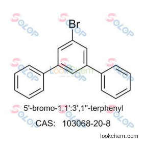 SOLOPhigh purity, low price, in stock, free sample 1-Bromo-3,5-diphenylbenzene 103068-20-8