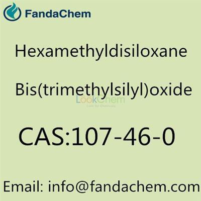 CAS NO:107-46-0, Hexamethyldisiloxane, Bis(trimethylsilyl)oxide