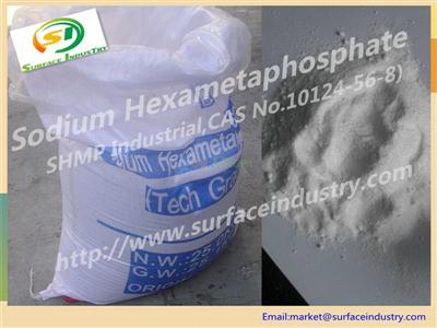 Sodium Hexameta Phosphate 68% with SHMP Powder, Flake