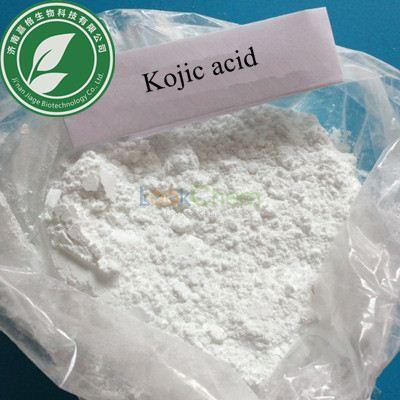 Pharma Grade 99% Pharmaceutical powder Kojic acid for antibacterial