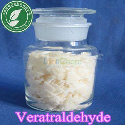 Pharma Grade 99.5% Pharmaceutical intermediate Veratraldehyde