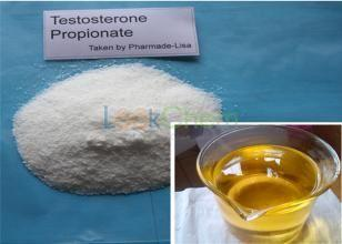 Testosterone Propionate anabolic steroids bodybuilding White crystall powder(57-85-2)