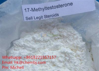 Testosterone Raw Powder 17 Methyltestosterone Muscle Building Steroids For Men(58-18-4)