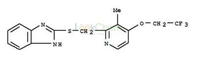 2-[3-Methyl-4-(2,2,2-trifluoroethoxy)-2-pyridinyl]methylthio-1H-benzimidazole