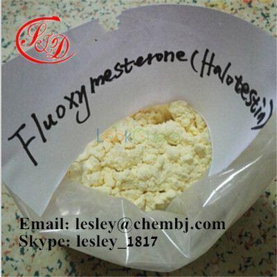 Anabolic Steroid Powder Fluoxymesterone (Halotestin) CAS No.: 76-43-7
