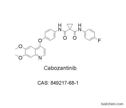Cabozantinib (XL184, BMS-907351) high purity, low price, in stock, free sample