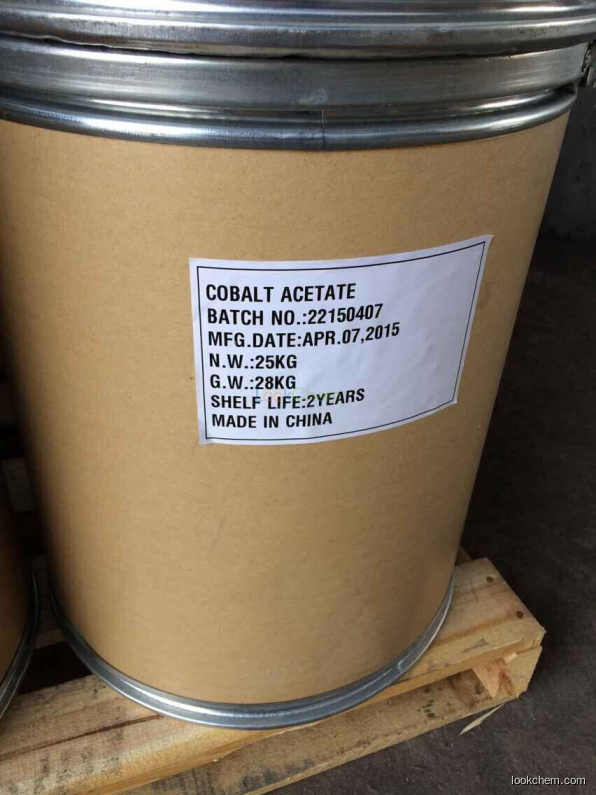High quality and low price  Cobalt Acetate,Tetrahydrate