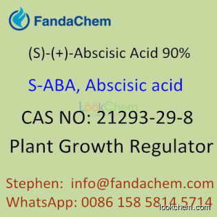 S-Abscisic Acid (S-ABA 10%, 90%), cas  21293-29-8 from Fandachem