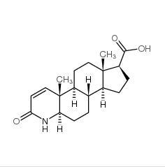 4-Aza-5a-androstan-1-ene-3-one-17b-carboxylic acid