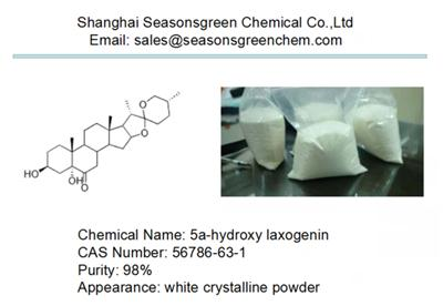 lower price white powder 5a-hydroxy laxogenin