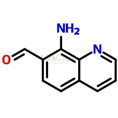 UIV CHEM 98% in stock low price 8-Amino-7-quinolinecarbaldehyde