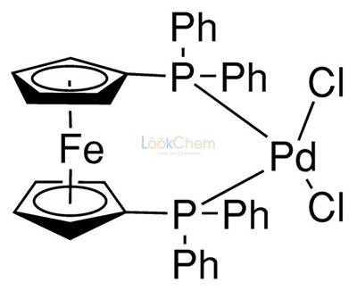 [1,1'-Bis(diphenylphosphino)ferrocene]palladium(II) chloride CAS NO.72287-26-4  PdCl2(dppf)