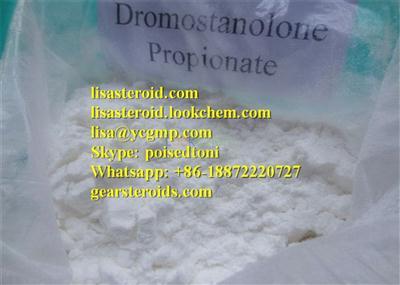 Want Drostanolone Propionate write to lisa@ycgmp.com