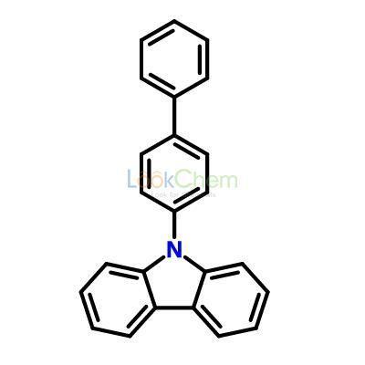 9-(4-Phenylphenyl)carbazole 6299-16-7 C24H17N