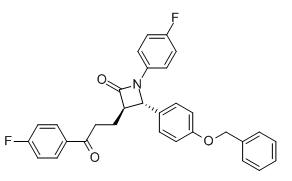 (3R,4S)-4-[4-(Benzyloxy)phenyl]-1-(4-fluorophenyl)-3-[3-(4-fluorophenyl)-3-oxopropyl]azetidin-2-one