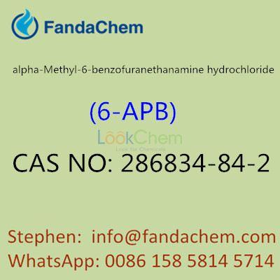 alpha-Methyl-6-benzofuranethanamine hydrochloride, cas no: 286834-84-2