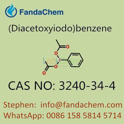(Diacetoxyiodo)benzene 99%min,CAS NO:  3240-34-4