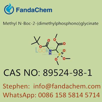 Methyl N-Boc-2-(dimethylphosphono)glycinate, cas no. 89524-98-1