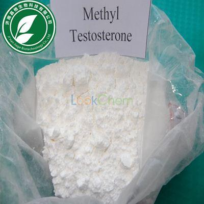 99% Purity 17-Methyltestosterone Steroid Powder 17-alpha-Methyl Testosterone With Safe Delivery