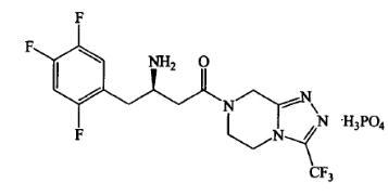 Sitagliptin phosphate CAS:654671-78-0