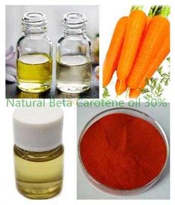 Natural Beta Carotene Oil 30% CAS 472-61-1015