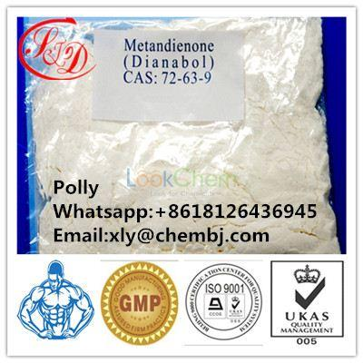Top Quality Oral Dianabol/Dbol/Methandrostenolone for Bodybuilding CAS 72-63-9(72-63-9)