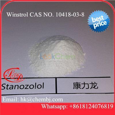 Highly Effective Anabolic Steroid Powder Stanozol Winstrol for Muscle Building(10418-03-8)