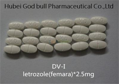 Letrozole 2.5mg Femara Anti Estrogen Steroids Ai Combat Breast Cancer Treatment
