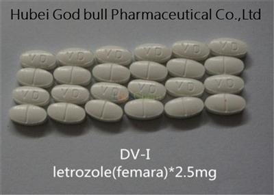 Letrozole 2.5mg Femara Anti Estrogen Steroids Ai Combat Breast Cancer Treatment