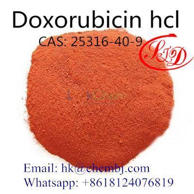 Anti-Cancer Raw Material Doxorubicin Hydrochloride Doxorubicin HCl CAS 25316-40-9