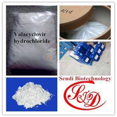 China Supply 98% USP Standard Raw APIs Antiviral Powder Valacyclovir Hydrochloride
