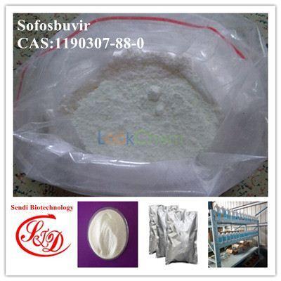 China Supply 99% Sofosbuvir/GS-7977 Raw Powder Hepatinica