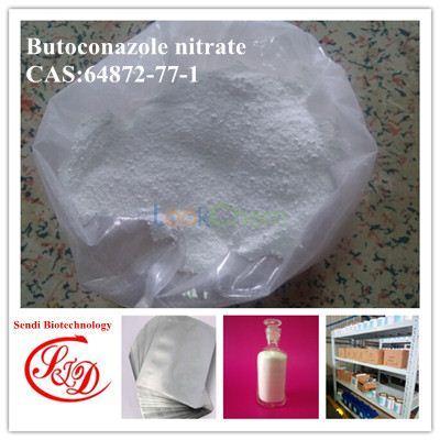 Factory Supply Antifungal Agents Butoconazole Nitrate Raw Powder
