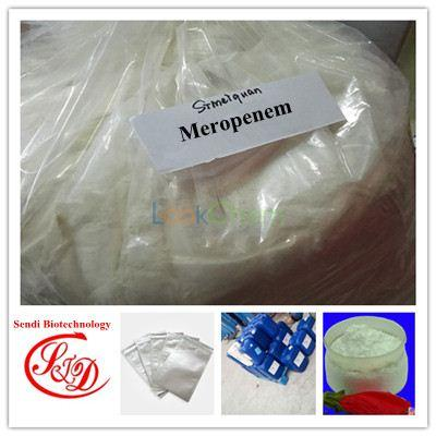 Top Quality Meropenem Antibiotics Agent 98%min Raw Powder
