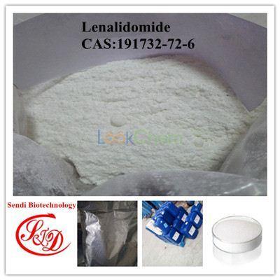 99% Top Quality Lenalidomide / Revlimi Anti-tumor Drug Raw Powder