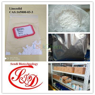 99% High Purity Antibiotics Antimicrobial Linezolid Raw Powder