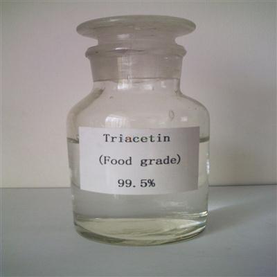99%min plasticizer Triacetin cas 102-76-1