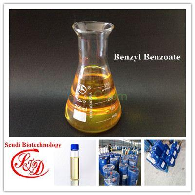 China Supply 99% Top Quality Solvent Benzyl Benzoate Liquid