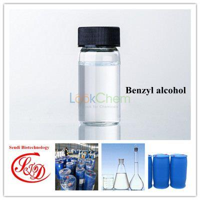 99.9% Top Quality Benzyl Alcohol Solvents for Steroids Best Liquid