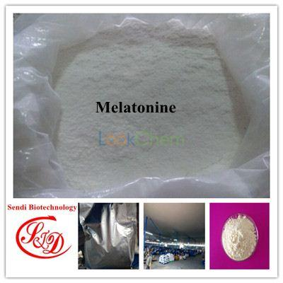 99.5% High Purity Hormone Raw Powder Melatonine Health Care APIs